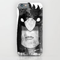 iPhone & iPod Case featuring Bird Head by ErDavid