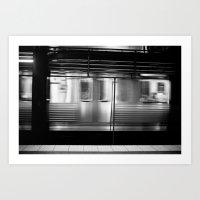 Subway Art Print