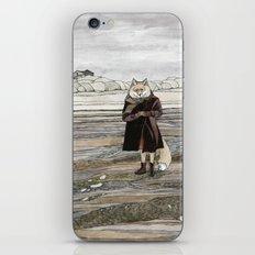 Fox in Sand Dunes iPhone & iPod Skin