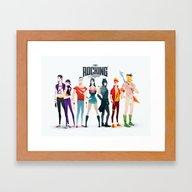 The Rocking League Framed Art Print