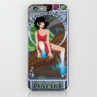 iPhone & iPod Case featuring Crysta Nouveau - Fern Gully by CaptainLaserBeam