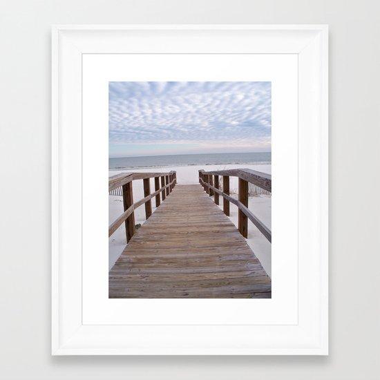 Gulf Shores, Alabama Framed Art Print