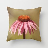 Basking in Summer's Glow Throw Pillow
