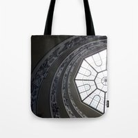 Staircase To Vatican  Tote Bag