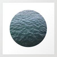 Planetary Bodies - Water Art Print