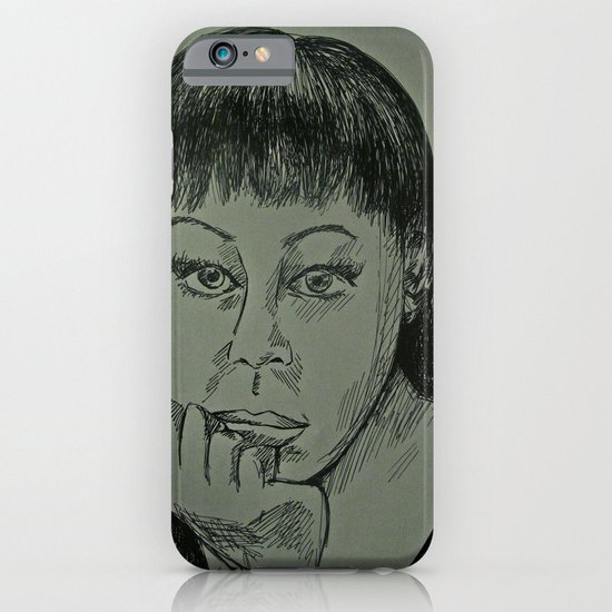 Adele Sketch iPhone & iPod Case