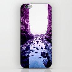 Purple Blue Lagoon iPhone & iPod Skin