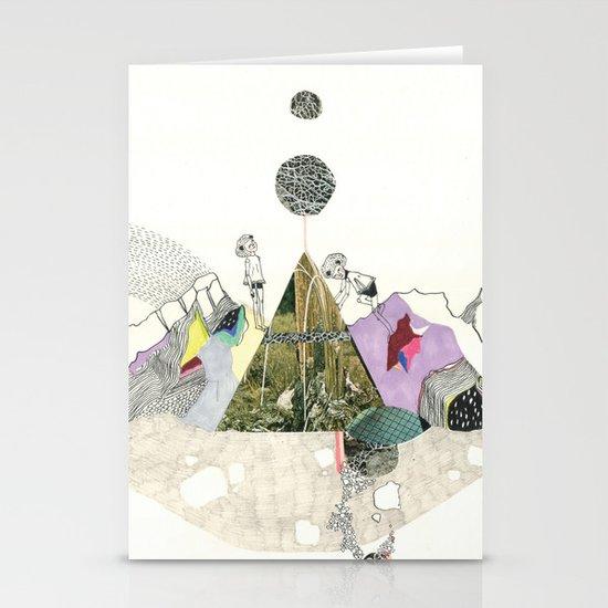 Climbers - Cool Kids Climb Mountains Stationery Card
