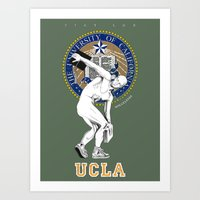 UCLA ...let there be light Art Print