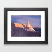 Architexture Framed Art Print