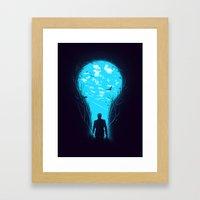 Bright Side Framed Art Print