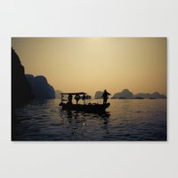 Dusky Halong Canvas Print