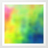Tye Dye Art Print