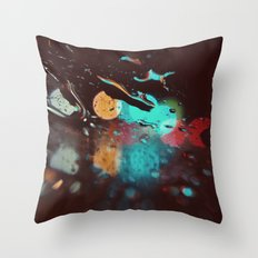 Night Visions Throw Pillow