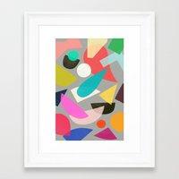 colored toys 1 Framed Art Print