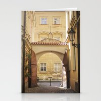 Golden Afternoons In Pra… Stationery Cards