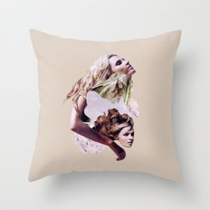 savage Throw Pillow