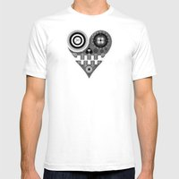 UL Mens Fitted Tee White SMALL