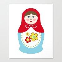 Matryoshka Doll 1 Canvas Print