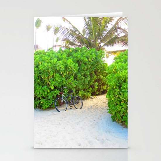 Bike Stationery Card