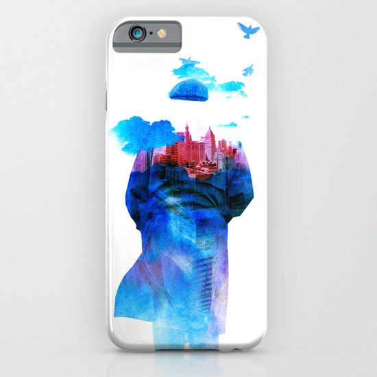 Get Away From Town (color version) iPhone & iPod Case