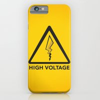 iPhone Cases featuring High Voltage by Ian Wilding