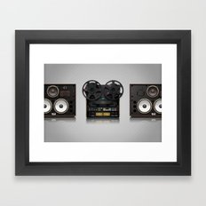 Open Reel 769 Framed Art Print