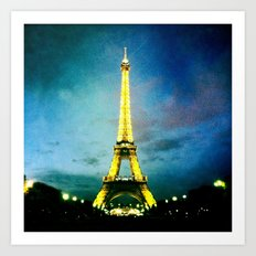 J'aime Paris! Art Print