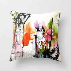 Vivid. Throw Pillow