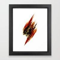 Thunder Cats Framed Art Print