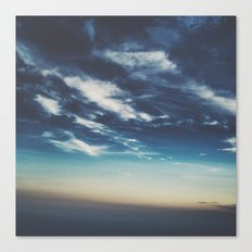Sea of Clouds Canvas Print