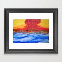 Counterharmony. Framed Art Print