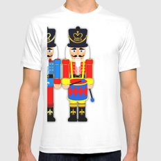 Nutcracker Soldiers White Mens Fitted Tee SMALL