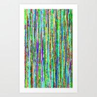 PixelDrifts1 Art Print