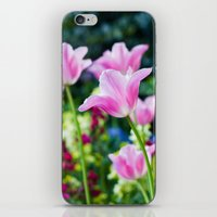 Flowers alive iPhone & iPod Skin