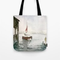 Fishing in Istanbul Tote Bag