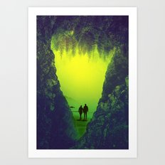 Toxic Forestry Together Art Print