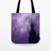 Starry Night - JUSTART �… Tote Bag