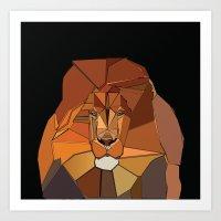 Dark Crystal Lion Art Print