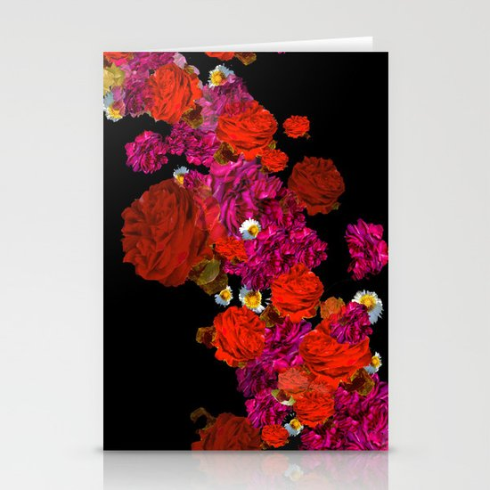 roses Stationery Card