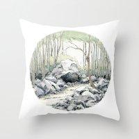 Crop Circle 01 Throw Pillow