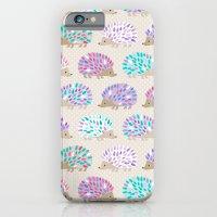 iPhone Cases featuring Hedgehog polkadot by Heleen van Buul