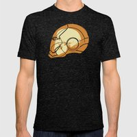 Shell Head Mens Fitted Tee Tri-Black SMALL