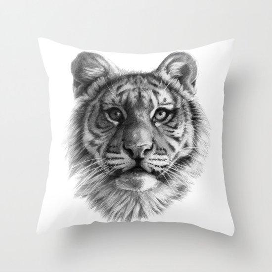 Tiger Cub SK106 Throw Pillow