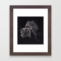 Running Bear - Updated Framed Art Print