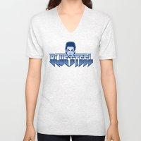 Blue Steel Unisex V-Neck