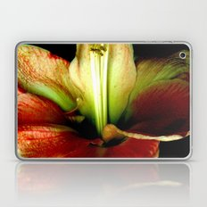 Red Green Yellow Blossom with Calyx Laptop & iPad Skin