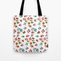 Colorful Fishes Tote Bag
