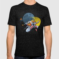 Porkins! (version 43.25) Mens Fitted Tee Tri-Black SMALL