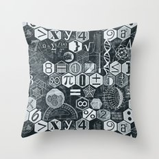 Math Class Throw Pillow